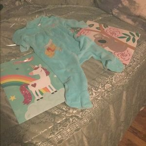 Disney Pooh Bear Soft Blue Jumper. 3-6 mo
